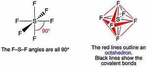 Drawn Molecule Sf6