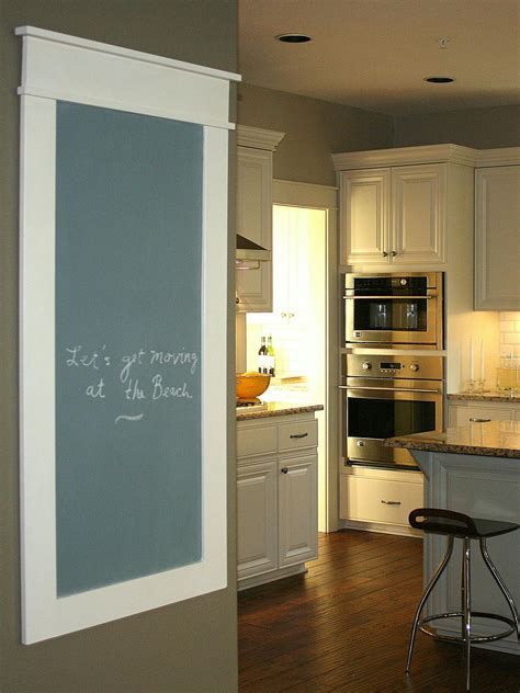 kitchen blackboard create a family message center hgtv