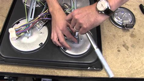 How To Replace A Cooking Plate On An Electric Hob Youtube