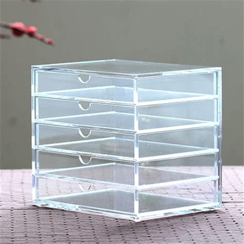 muji bureau organisateur acrylique transparent bo 238 te 224 bijoux bo 238 te de rangement tiroir mode