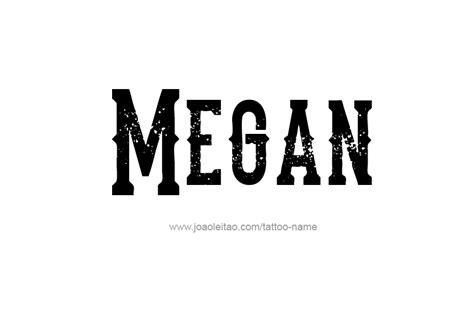 megan  tattoo designs