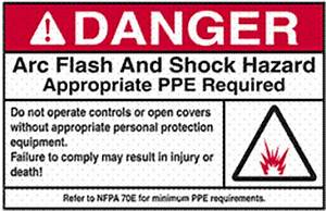 Comply with regulations increase safety save costs with for How to read arc flash labels