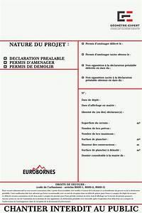 Panneau Déclaration Préalable : panneau declaration prealable ~ Dode.kayakingforconservation.com Idées de Décoration