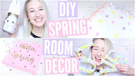 diy spring room decor sophie louise youtube