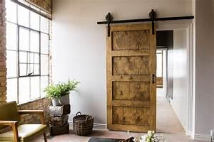 black 6 8 ft rustic sliding barn door closet hardware set With 6 foot barn door