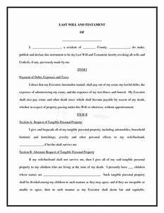 best photos of sample will and testament texas sample With last will and testament sample document