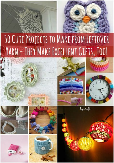50 Cute Projects To Make From Leftover Yarn  They Make