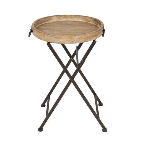 hometrends wood and metal folding table walmart ca
