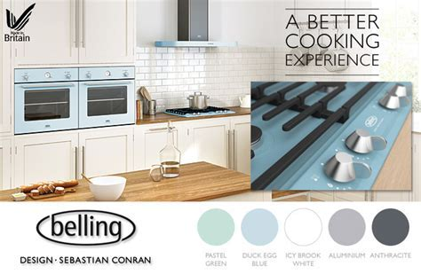 Belling by Sebastian Conran comes to the Rangecookers