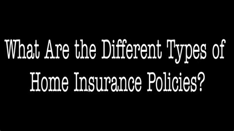 These include homeowner's insurance, dwelling insurance, property insurance, and property liability. What Are The Different Types Of Home Insurance   ALLCHOICE ...