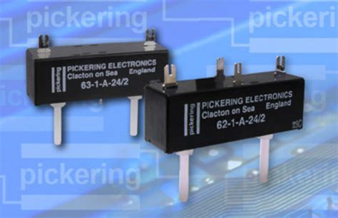 High Voltage Reed Relay Pickering Electronics Ltd