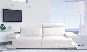 Acheter Canapé Pas Cher : comment acheter un canap cuir blanc pas cher canap show ~ Teatrodelosmanantiales.com Idées de Décoration