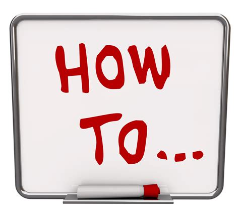 """Stuck On What To Write About? Create A """"howto Guide"""" For"""
