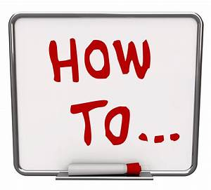 """Stuck on what to write about? Create a """"How-to Guide"""" for ..."""