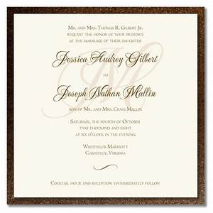 best wedding invitation cards wedding invitation wording With wedding invitations wording when the couple is hosting