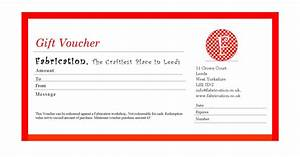 gift voucher format sample personal loan forms free With voucher html template