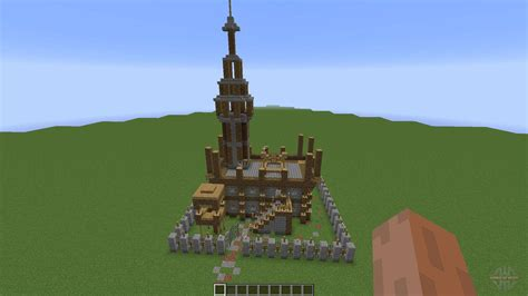 small medieval fort  minecraft
