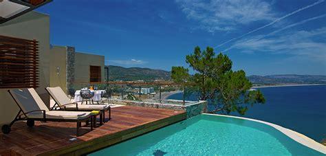 mediterranean style bathrooms lindos luxury hotel suites designer travel