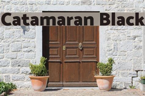 Catamaran Font by Catamaran Black フォント Exles