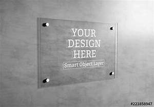 Plate Glass Signage Mockup  Buy This Stock Template And Explore Similar Templates At Adobe Stock