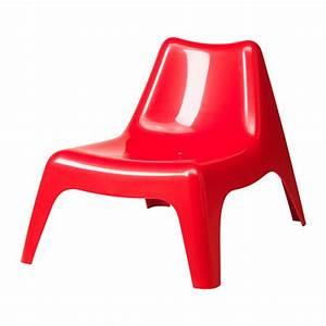 Fauteuil Plastique Jardin : ikea ps 2014 fauteuil vago rouge ~ Teatrodelosmanantiales.com Idées de Décoration