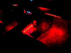 LED RED NEON LIGHTS INSIDE MY CAR 1989 TOYOTA 4RUNNER