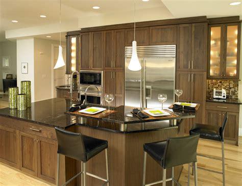 walnut color kitchen cabinets walnut kitchen contemporary kitchen by 6990