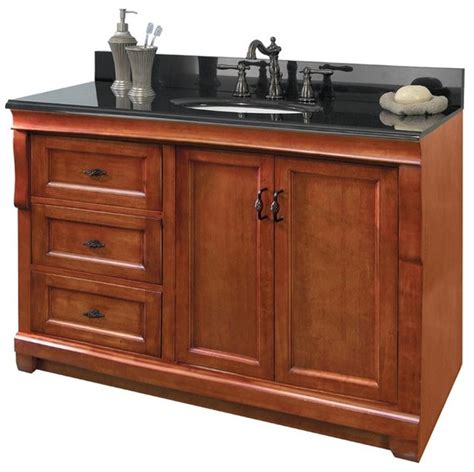 48 Cabinet With Drawers by Foremost Naca4821dl Naples 48 Quot Vanity Cabinet Only