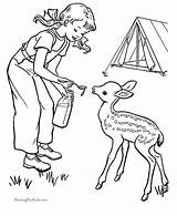 Camping Coloring Pages Cousin Camp Sheet sketch template