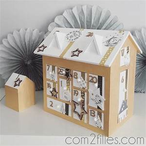 Calendrier De L Avent Maison En Bois : calendrier de l 39 avent maison en bois cultura customis e ~ Melissatoandfro.com Idées de Décoration