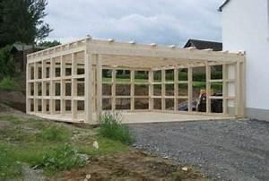 Doppelgarage Aus Holz : garagen in holz und kunststoffverkleidung holzprofi huesgen ~ Sanjose-hotels-ca.com Haus und Dekorationen