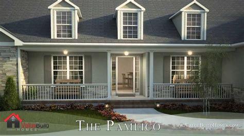 virtual   pamlico house plan youtube