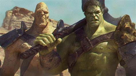 thor ragnarok confirmed to include planet hulk 39 s sakaar