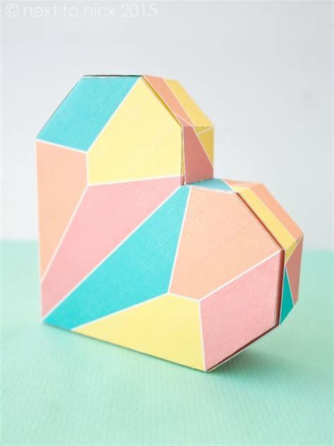 heart shaped box template craft pinterest donation