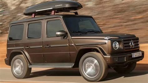 Leaked Images Reveal Mercedes G-class Without Camouflage