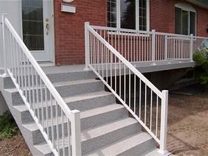 Rampe Pour Escalier : rampes pour balcon patio contour de piscine et escalier ~ Melissatoandfro.com Idées de Décoration