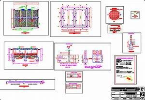Sludge Drying And Drainage Bed DWG Block for AutoCAD