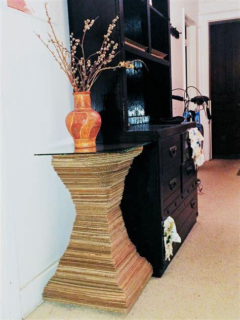 stacked table extract   art  cardboard  lori