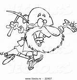 Prospector Toonaday Vecto Getdrawings sketch template
