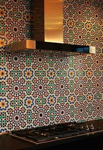 moroccan tiles kitchen backsplash moroccan tile backsplash add the charm of the mediterranean sea