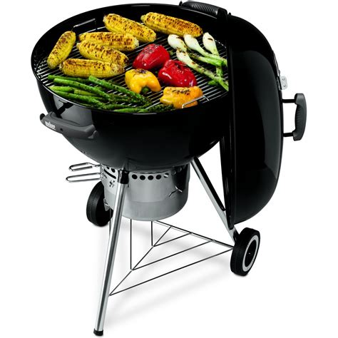 weber cuisine weber one touch gold 26 75 inch charcoal kettle bbq grill