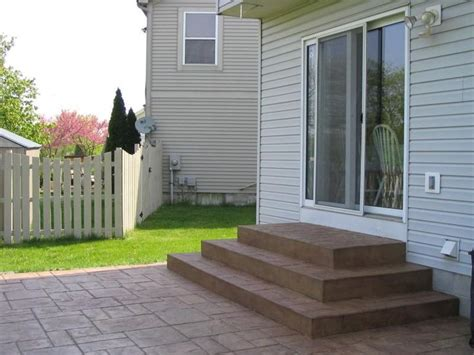 25 best ideas about concrete steps on garden