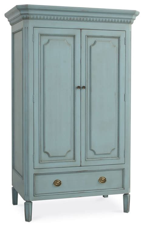 Swedish Armoire  Traditional  Armoires And Wardrobes