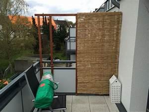 balkon sichtschutz aus bambus selber bauen anleitung mit With whirlpool garten mit balkon sichtschutz seitlich selber bauen