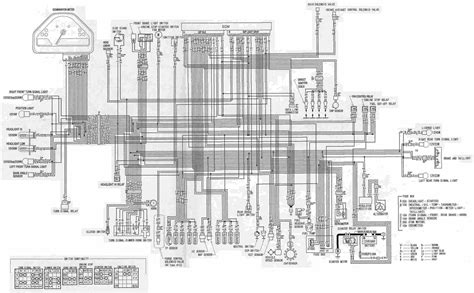 Combination Switch Wiring Diagram Honda by Complete Electrical Wiring Diagram Of Honda Cbr1000rr