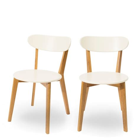chaises deisgn scandinave vitak par drawer