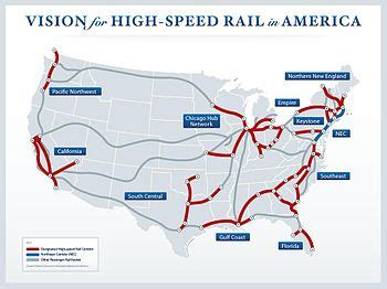 high speed rail in the united states