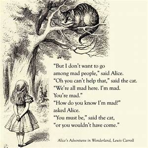 Cheshire Cat Quotes & Sayings | Cheshire Cat Picture Quotes