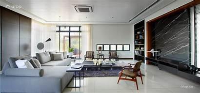 Living Spacious Rooms Interior Malaysian Contemporary Malaysia