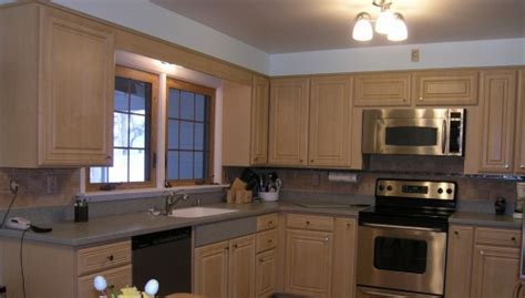 reface or replace kitchen cabinets home town restyling reface or replace cabinets home 7697